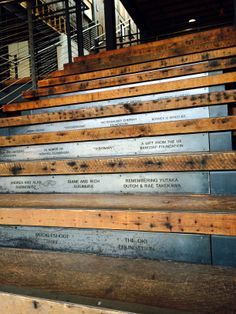 outdoor donor recognition walls - Google Search