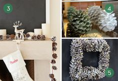 Roundup: 10 Ways To Use Pinecones in Your Holiday Decor