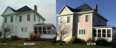 Bildresultat för house construction before and after