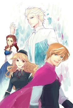 oh my gosh i think this is my favorite Frozen genderbend