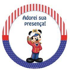 Capitão Mickey – Kit festa grátis para imprimir – Inspire sua Festa ®