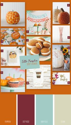 If you're looking for a fall baby shower theme for a new mom, take advantage of the season and throw a little pumpkin baby shower to celebrate the new little baby! Baby Shower Host, Baby Shower Fall, Fall Baby, Baby Shower Favors, Baby In Pumpkin, Little Pumpkin, Stork, Inspiration Boards, Pumpkin Decorating