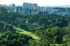 Vista aérea: Country Club de Porto Alegre