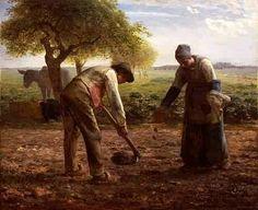 Potato Planters - Jean Francois Millet