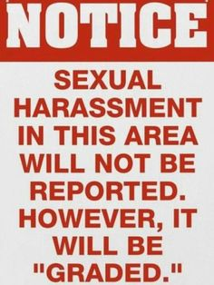 Funny sexual harassment posters workplace
