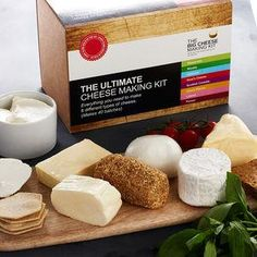 The Ultimate Cheese Making Kit -This Father's Day, treat Dad to something he really wants — everlasting memories with you. Whether the outcome's beautiful cakes, moreish bakes or wonderfully wonky pies, you're guaranteed a day of baking fun both you and Dad will never forget.