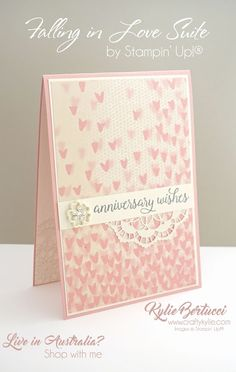 Kylie Bertucci Independent Demonstrator Australia: Crazy Crafters Blog Hop with special guest - Georgia Giguere