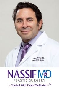 NoseComfort is the ONLY Eyeglass Support that is doctor recommended. It is endorsed by Dr. Paul S. Nassif, fellow in the American Academy of Facial Plastic and Reconstructive Surgery. Dr. Nassif trusts NoseComfort with his pateints who wear glasses following their nasal procedures, to help provide the safest, most comfortable recovery process possible.