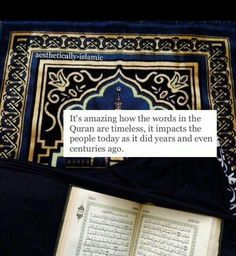 From the beginning until the end the Quran will always change lives for the better!❤️