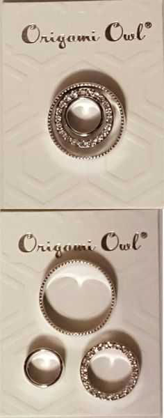 Valentines Jewelry: Origami Owl Legacy Nesting Bubbles With Swarovski Crystals Valentines Day Gift -> BUY IT NOW ONLY: $30.0 on eBay!