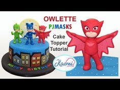 How to make Catboy from PJ Masks /Cómo Hacer a Catboy para decorar tortas - YouTube