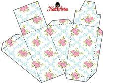 Flores: cajas para pastel de cajas, para imprimir gratis. - Ideas y material gratis para fiestas y celebraciones Oh My Fiesta!