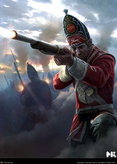 Empire Total War Grenadier by Michael Kutsche | 2D | CGSociety