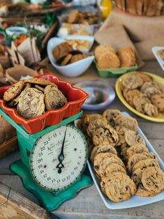 These sweet ideas will make your wedding dessert table anything but cookie-cutter. Take a look at these 15 tasty ways to serve cookies at your wedding.