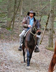 A good horse beneath you. A blue sky above. That's the beauty of a visit to Sugarlands Riding Stables - Gatlinburg TN. Enjoy a peaceful view of the Great Smoky Mountains on the back of a well trained horse.