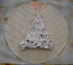 albero di pasta sfoglia ripieno