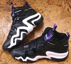 men's adidas Crazy 8 - Kobe Bryant 1998 NBA All-Star Game - Freshness Mag Kobe Bryant, Bryant Lakers, Crazy 8, Crazy Shoes, Adidas Men, All Star, Nba, Air Jordans, Nike Basketball