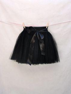 short tulle skirt
