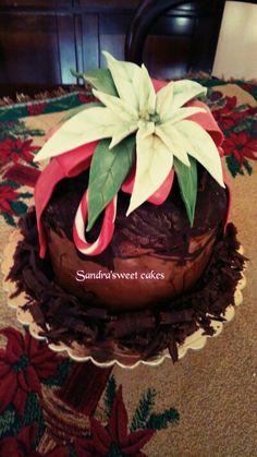 Panettone decorato con cioccolato plastico