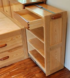 Pullout has 3 shelves and drawer photo Bed-Storage-15-headboard-pu.jpg