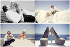 Beach wedding in Santorini by stellaandmoscha.com Wedding Designer Evangelia Mendrinou www.stellaandmoscha.com
