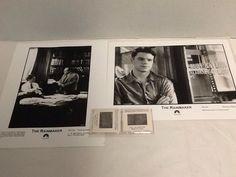 "The Rainmaker Movie Photo Matt Damon Danny DeVito 2 Color Slides 2 BW 8x10"""