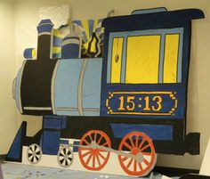 VBS Decorating: Train