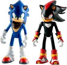 Tomy Sonic the Hedgehog 3 inch Figure Battle Pack, Sonic and Shadow, Size: