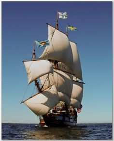 Tall Ship Kalmar Nyckel Sails PTown Harbor and Beyond