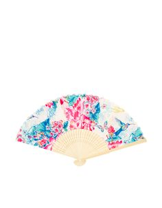 Accessorize £5 Keep your cool with our beautiful floral-print Harika fan, featuring a foldable, compact design.