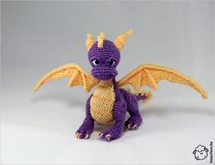 Spyro the Dragon by wooltoys-ru.deviantart.com on @DeviantArt