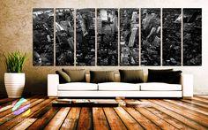 XXLARGE 30x 96 8 Panels Art Canvas Print beautiful by BoxColors