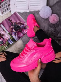 Dámske cyklamenové tenisky DML801-5ORCE Air Max Sneakers, Sneakers Nike, Nike Air Max, Sport, Pretty, Fashion, Shoes, Nike Tennis Shoes, Deporte