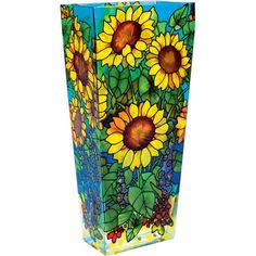 Lovely Dramatic Sunflower Field Vases for Interior Home Decor Design by Joan Baker Designs Company, California - California's Home, Design and Gifts Market | California Markt