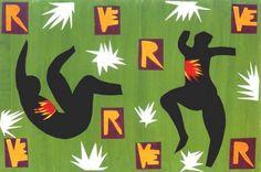 Matisse 'Design cover for Verve IV' (1943)