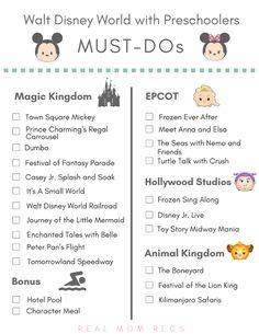 Disney World with preschoolers Disney World Trip, Disney World Resorts, Disney Cruise, Disney Trips, Disney Travel, Birthday At Disney World, Disney Vacations, Disney Parks, Disney List