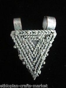 Vintage Ethiopian Telsum Amulet Pendant