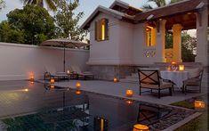 Private pool at Amantaka Resort