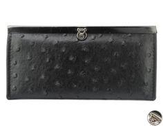 Peňaženka lakovaná s klipom, čierna 10718 www.vasepenazenky.sk