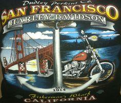 Harley Davidson T shirt pillow.  #harleydavidson #fishermanswharf #pillow #bellaslittlebowtique #forsale