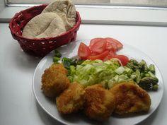 En verden af smag!: Pitabrød med Falafel