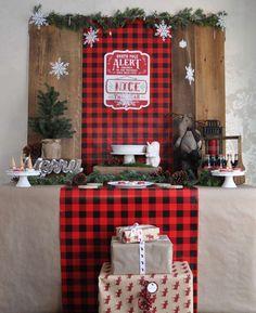 santas workshop christmasholiday party ideas - Christmas Ideas Pinterest