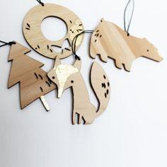 Xmas Decorations - SET 1. £20.00, via Etsy.