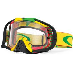 Oakley Crowbar Goggles - Biohazard Rasta Biohazard 462540c648