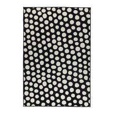 IKEA - ULLGUMP, Alfombra, pelo corto, Al estar hecha de fibras sintéticas, la alfombra no se mancha y es resistente y fácil de mantener.El pelo grueso amortigua el sonido y crea una superficie muy mullida.