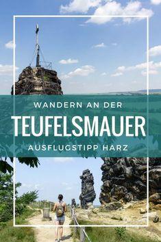 Die Teufelsmauer am Harz: Wandern am Teufelsmauerstieg - Travel and Extra Europe Destinations, Camping Photography, Train Travel, Germany Travel, Far Away, Camping Hacks, Outdoor Travel, Trekking, Adventure Travel