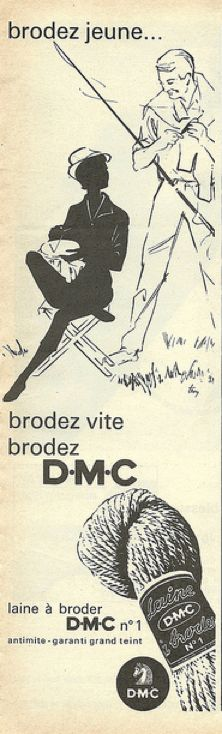 vintage dmc ad