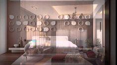 Contoh Design dan Furniture Ruang tidur utama minimalis