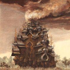 REPRESS of LOCRIAN & HORSEBACK collaborative LP on Utech Records