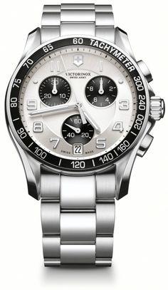Victorinox Swiss Army Chrono Classic Mens Watch 241495 $535